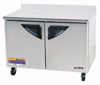 Turbo Air TWF-48SD Worktop Freezer w/ 2-Doors, 12-cu ft, All Stainless