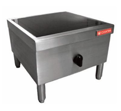 Cook-Tek MSP-7000-200 Floor & Work Table Mounted Stock Pot Induction Range, 7000-Watts