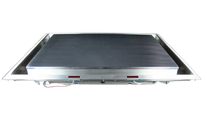 "Cook-Tek MPLD362CS-200 36"" Drop-In Induction Plancha - Stainless 208v"