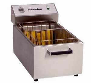 Roundup CCC-20 Corn Cooker Two Baskets (40) 3 in Ears of Corn Restaurant Supply