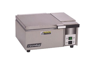 Roundup DFW-100 Steam Food Warmer - Self Contained, Half Pan Capacity, Stainless Steel, 120v