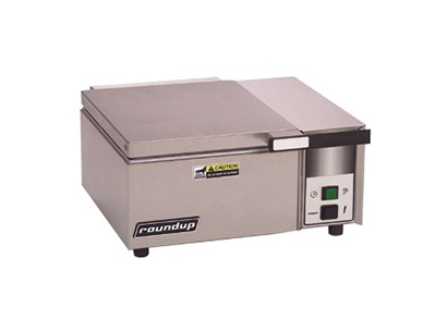 Roundup DFW-200 Steam Food Warmer - Direct Water Hook-up, Half Pan Capacity, 1800-W, 120v