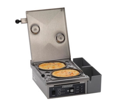 Roundup ES-602 Heat Steam Egg Station w/ Non-Stick Rings, Cooks 6-Eggs, 208 V
