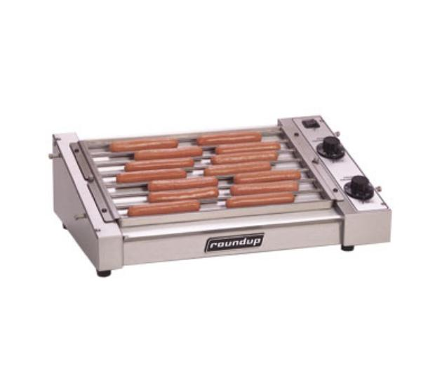Roundup HDC-21A 21 Hot Dog Roller Grill - Slanted Top, 120v