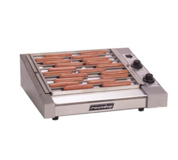 Roundup HDC-30A 30 Hot Dog Roller Grill - Slanted Top, 120v