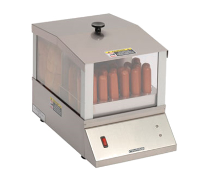 Roundup HDS-20 120V Hot Dog Steamer - (32)Hot Dogs and (16)Bun Capacity