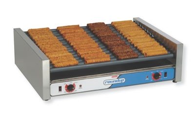 Roundup RR-30 30 Hot Dog Roller Grill - Slanted Top, 120v