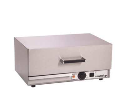 Roundup WD-20_9400100 40-Hot Dog Bun Warmer Drawer, Water Tray, 120 V