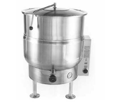 Accutemp ACEL-40 2081 Stationary Steam Kettle w/ 40-gal Capacity, Stainle