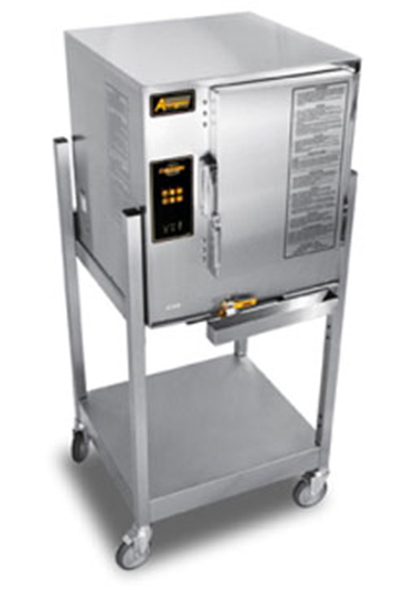 Accutemp E62083D170SGL Boilerless Convection Steamer w/ Stand & 6-Pan Capacity, 17kw, 208/3 V