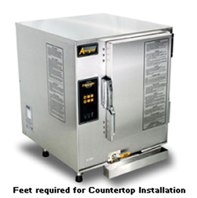 Accutemp E62083E100 Boilerless Convection Steamer, Counter, Water Connection Required, 10kw, 208/3 V