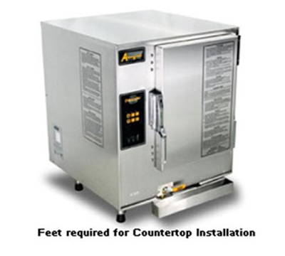 Accutemp E64403E120 Boilerless Convection Steamer, Counter, Water Connection Required, 12kw, 440/3 V