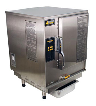 Accutemp N61201D060 Boilerless Convection Steamer w/ 6-Pan Capacity, Countertop, 60000-BTU, NG