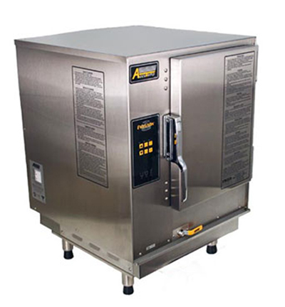 Accutemp N61201E060 Boilerless Convection Steamer, Flush Mount, Water Connection Required, 60000-BTU, NG