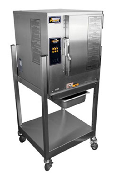 Accutemp P61201D060SGL Boilerless Convection Steamer w/ Stand & 6-Pan Capacity, 60000-BTU,