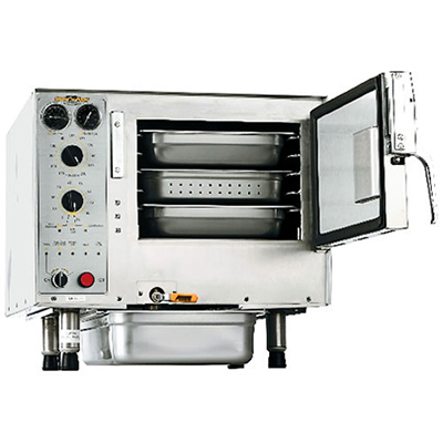 Accutemp S32403D110 Convection Steamer w/ 3-Pan Capacity, Countertop, 11kw, 240/3 V