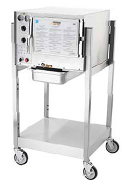 Accutemp S34803D110SGL Convection Steamer w/ Stand & 3-Pan Capacity, 11kw, 480