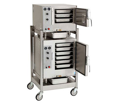 Accutemp S3/S62083D120 2-Convection Steamer w/ Stand &