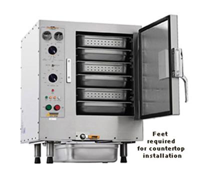 Accutemp S64803D140 Convection Steamer w/ 6-Pan Capacity, Countertop, 14kw, 480/3 V