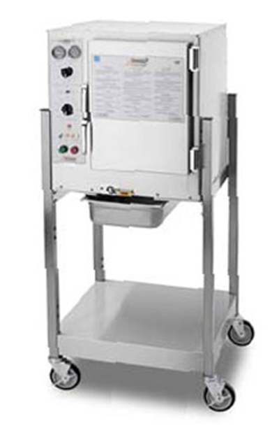 Accutemp S64803D140SGL Convection Steamer w/ Stand & 6-Pan Capacity,