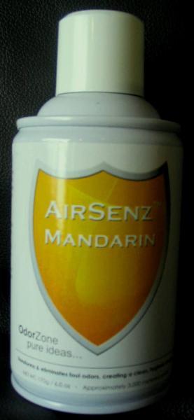 Control Zone F007 AirSenz Fragrances, 6 oz, Covers 6000 cu. ft, Mandarin