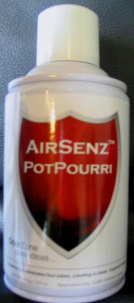 Control Zone F009 AirSenz Fragrances, 6 oz, Cover