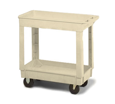 Continental Commercial 5800BE Utility Cart w/ 2-Shelve