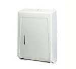 Continental Commercial 990W Wall-Mounted Paper Towel Dispenser, Multi-Fold/C-Fold Towels, Steel