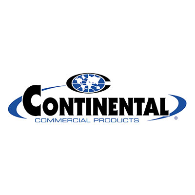 Continental Commercial 1525GY 4.62-Gal Bus Box w/ 4-sided Hand Hold, Grey
