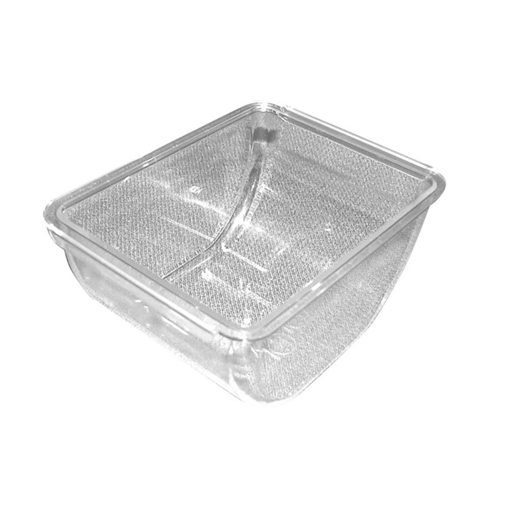 San Jamar BD102 The Dome Kolor-Cut Domed Condiment Center 1.5 Pint Tray