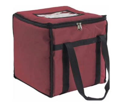 San Jamar FC1212-MRN Insulated Food Carrier, Heavy Vinyl Exterior