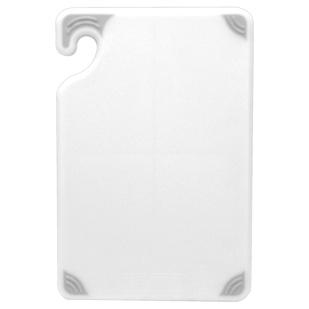 San Jamar CBG6938WH Cutting board, 6 x 9 x 3/8-in, White