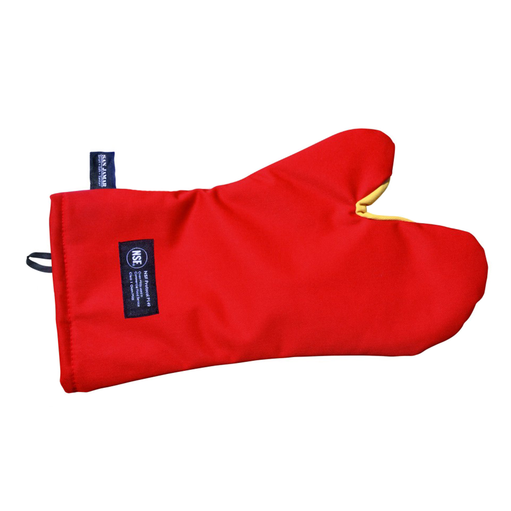 San Jamar CTC17 17-in Conventional Oven Mitt w/