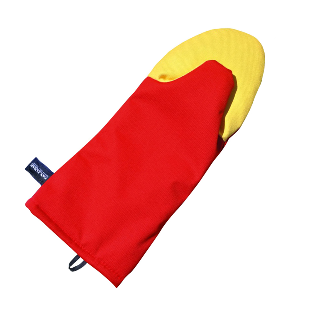 San Jamar CTP13 13-in Puppet Oven Mitt w/ 500-F Heat Protection, Magne