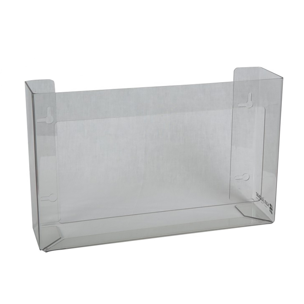 San Jamar G0805 Clear Disposable Glove Dispenser (3 box cap.)