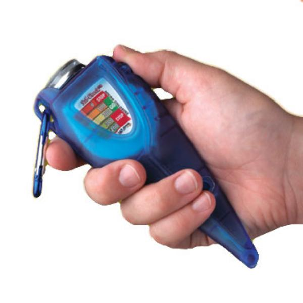 San Jamar SFC1200QT Saf-Check Quarternary Measurer with Thermometer