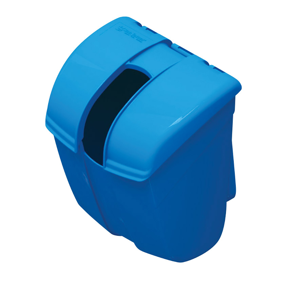 San Jamar SI2000 Saf-T-Ice Scoop Caddy Guardian, Blue