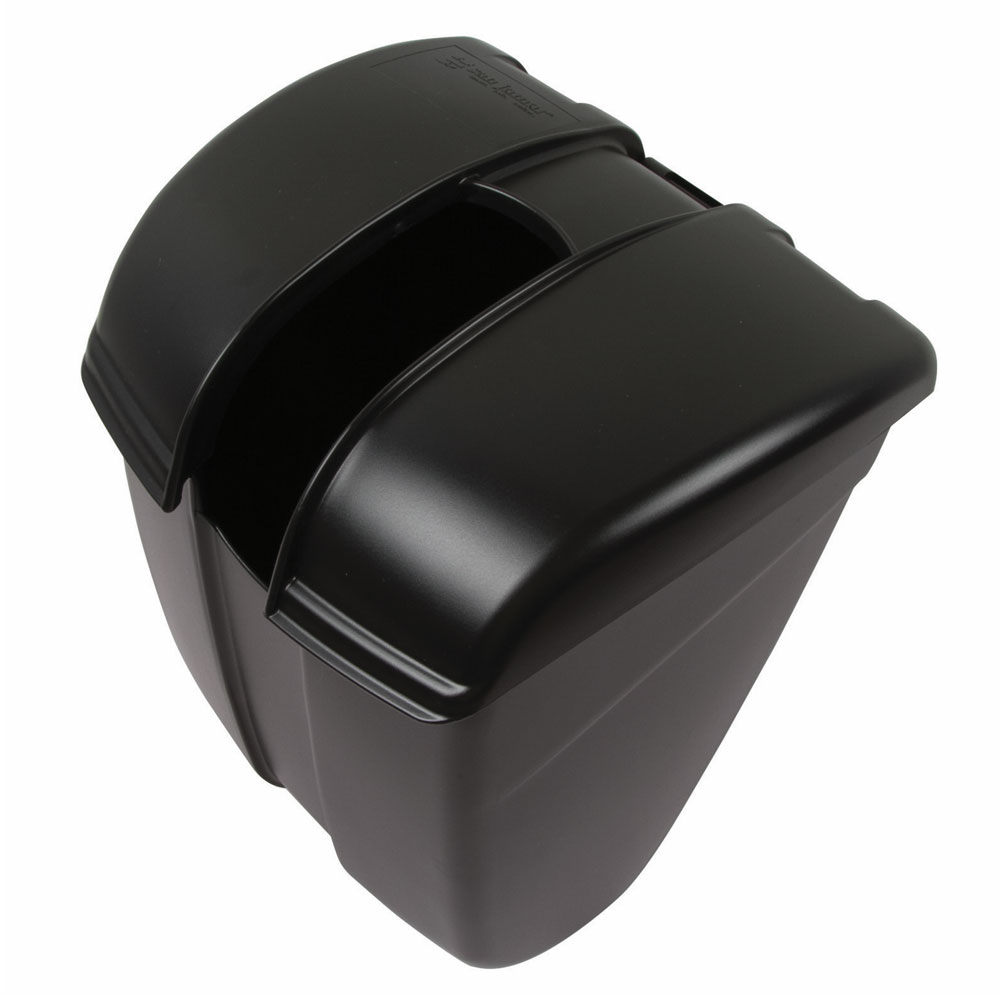 San Jamar SI2000BK Saf-T-Ice Scoop Caddy Guardian, Black