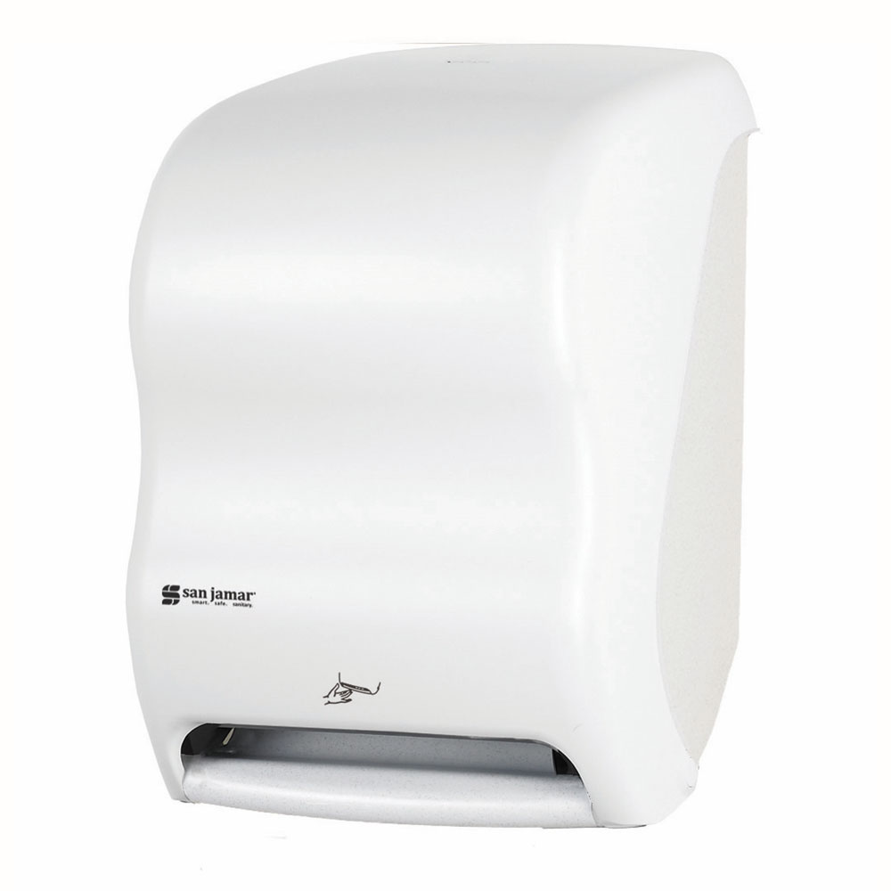 San Jamar T1400WH Towel Dispenser for (1) 8 x