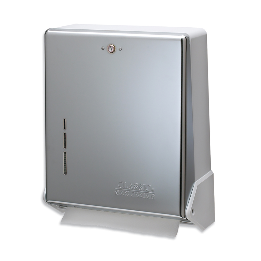 San Jamar T1905XC Multifold Towel Dispenser,