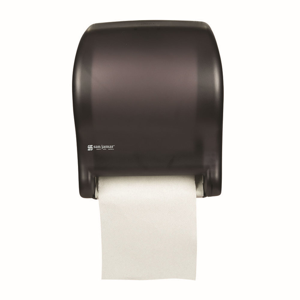 San Jamar T8000TBK Touchless Towel Dispenser, Wall Mo