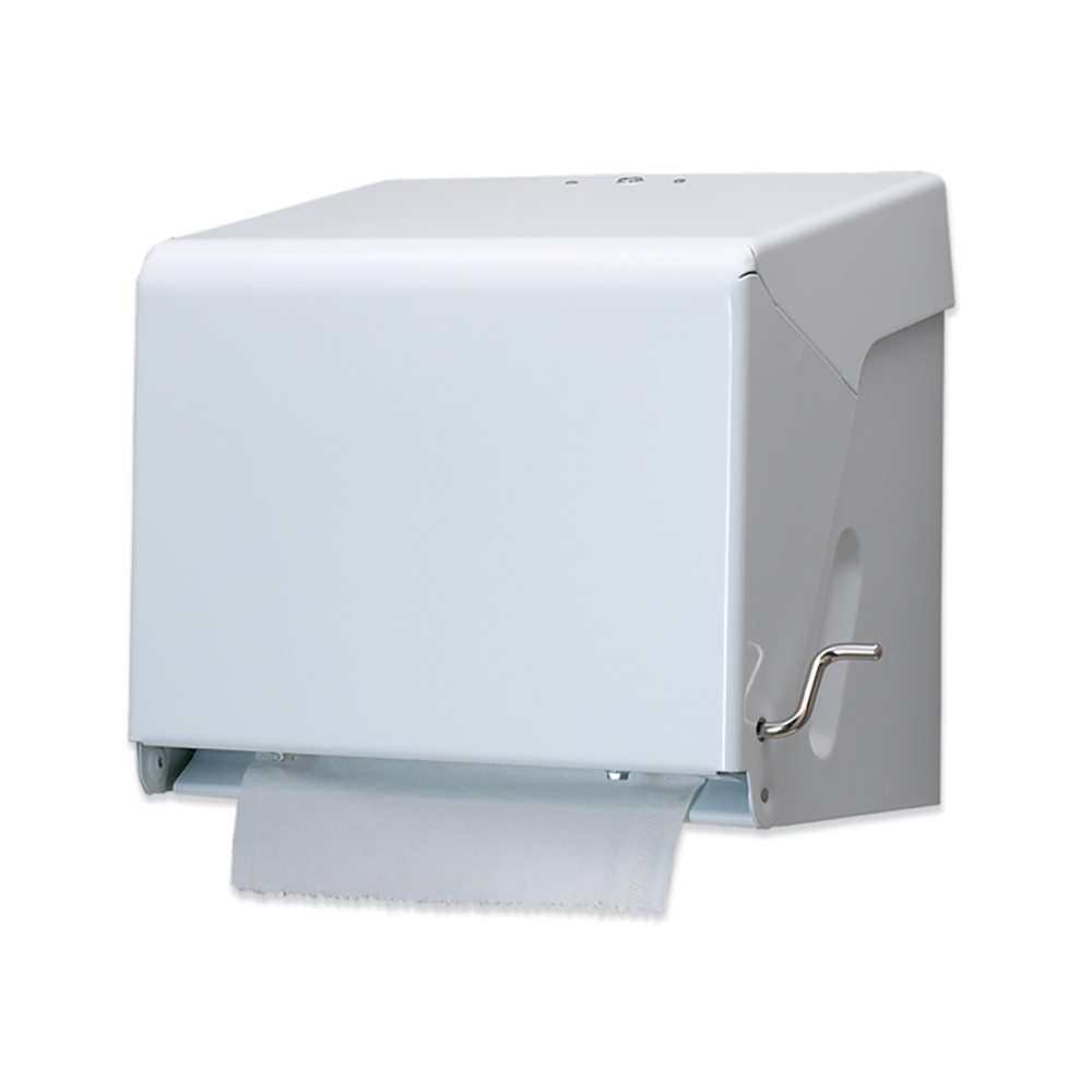 San Jamar T800WH Crank Roll Towel Dispenser, Not Portion Controlled