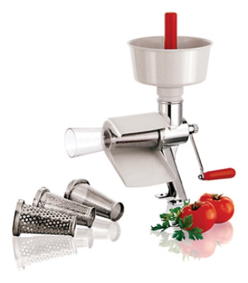 World Cuisine 42576-00 Manual Tomato Juicer, 19-5/8-in, Stainl