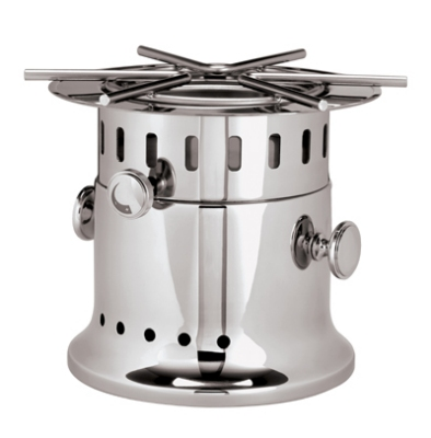 World Cuisine 56162-00 11-in Flambe Burner, Stainless Steel