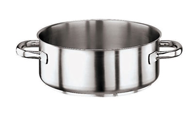 World Cuisine 11009-50 39-qt Rondeau Pot, Sta