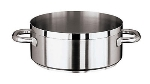World Cuisine 11109-50 39-qt Rondeau Pot, Stainless