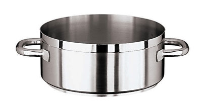 World Cuisine 11109-45 28.5-qt Rondeau Pot, Stainless