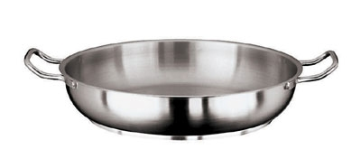 World Cuisine 11115-40 Paella Pan w/ Dual Handle, 15.75-in, Stainless