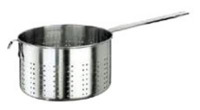 World Cuisine 11924-28 Pasta Strainer w/ Long Handle, 9-
