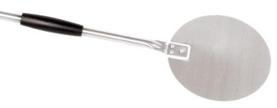World Cuisine 41738-23 Pizza Peel, 9 x 59-in, Plain, Stainless Steel